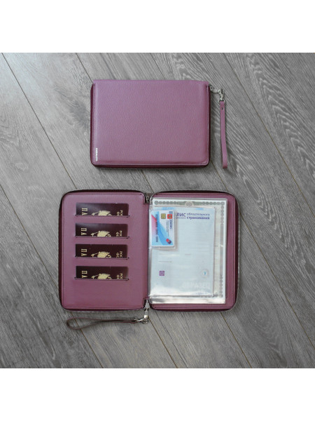 "Zip Folder А5 ""Флотер"" розовый"