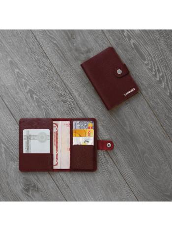 """Обложка для паспорта """"Флотер""""бордовый"""