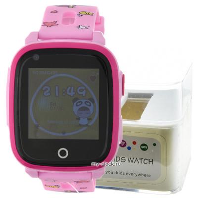GPS Smart Kids Watch RW33 роз