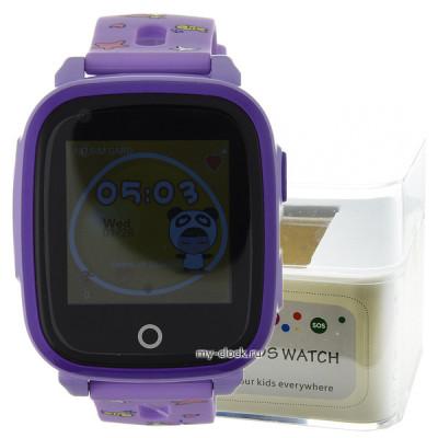 GPS Smart Kids Watch RW33 фиолет