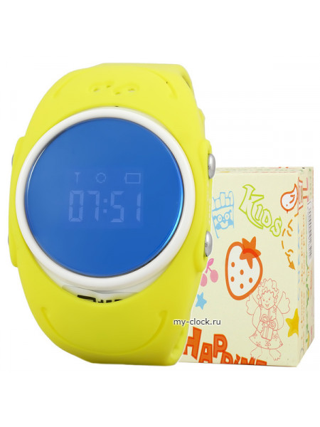 GPS Smart Watch Waterproor Q520S жел