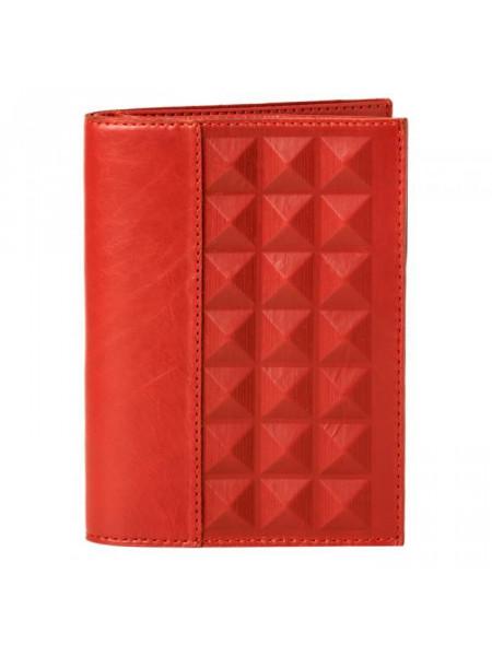 Обложка для документов «Геометрия». Цвет красный