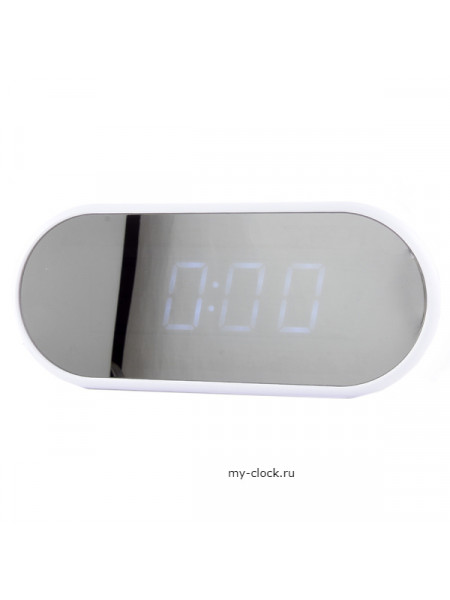 VST712Y-6 часы 220Вт бел.цифры-50+USB кабель (без адаптера)