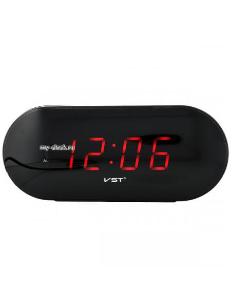 VST715-1 часы 220В красн.цифры+USB кабель (без адаптера)