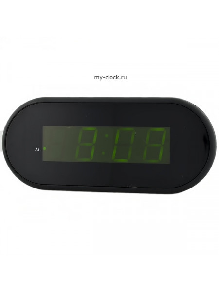 VST715-2 часы 220В зел.цифры+USB кабель (без адаптера)