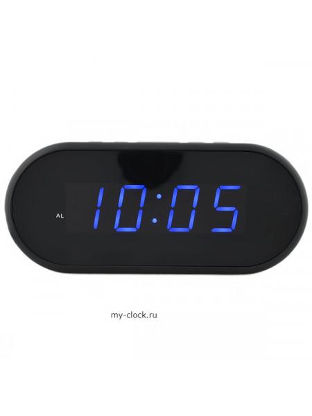 VST712-5 часы 220В син.цифры-40+USB кабель (без адаптера)