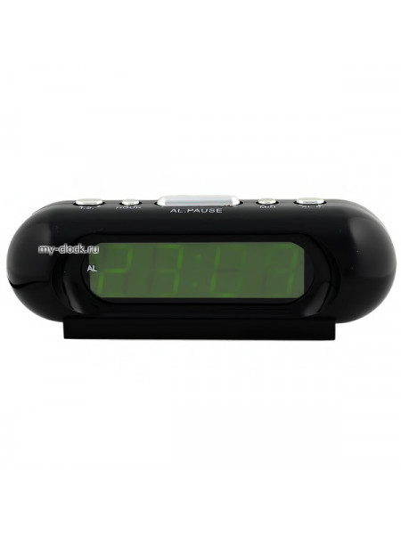 VST716-2 часы 220В зел.цифры-40 вилка со шнуром